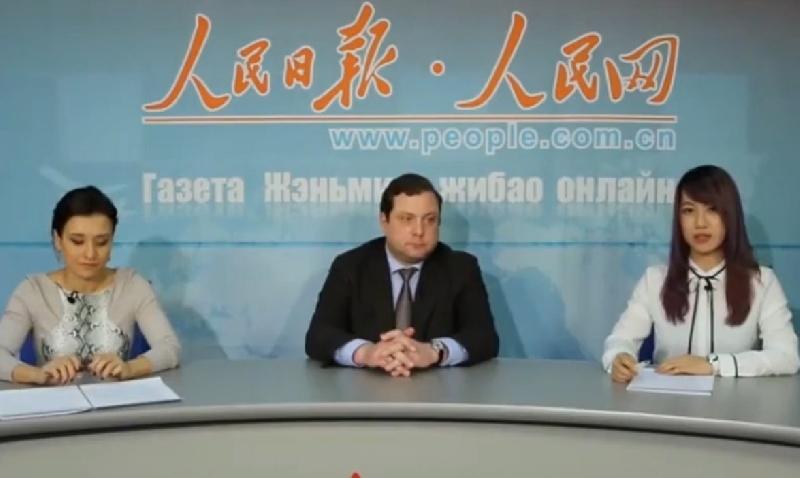 Смоленский губернатор презентовал регион в эфире китайского ТВ