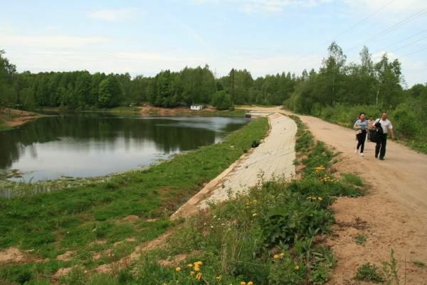 В Смоленске выясняют причины, по которым обмелело Реадовское озеро