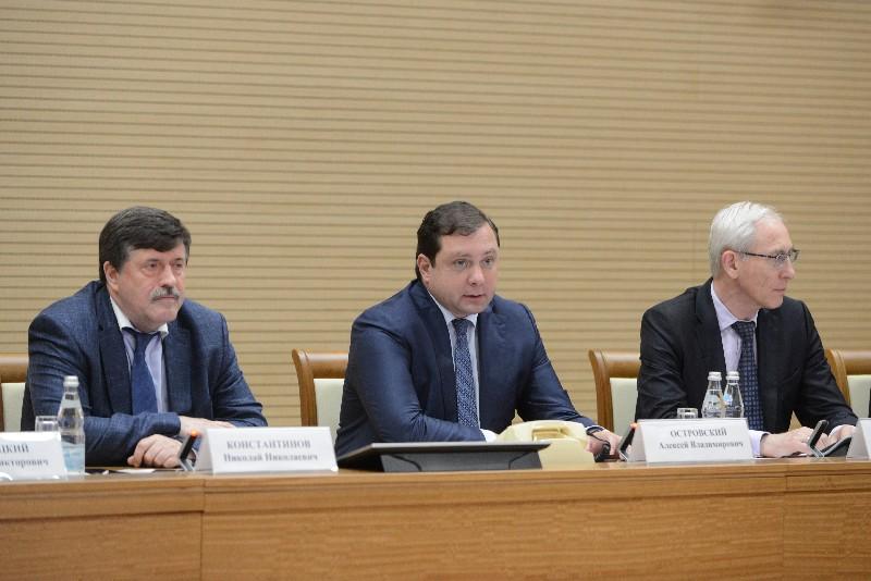 Алексей Островский провел заседание Координационного совета по энергетике, энергосбережению и энергоэффективности Ассоциации «Центральный Федеральный Округ»