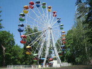 В смоленском парке планируют установить новое колесо обозрения