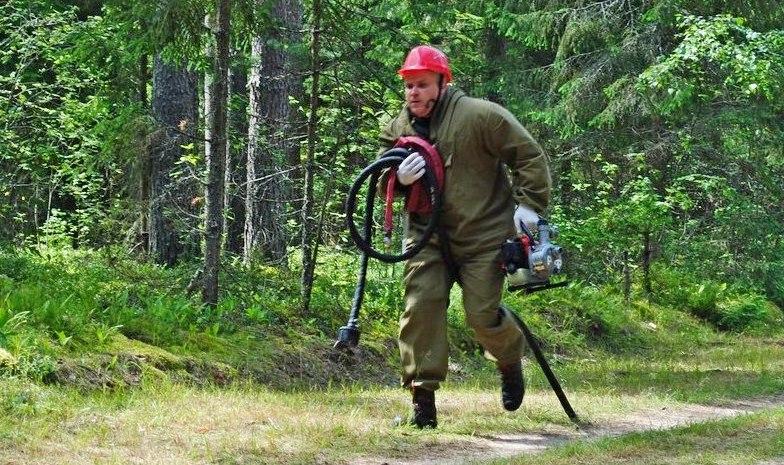 В Смоленской области выберут лучшего лесного пожарного