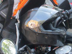 В Смоленской области «Шкода» сбила мотоциклиста