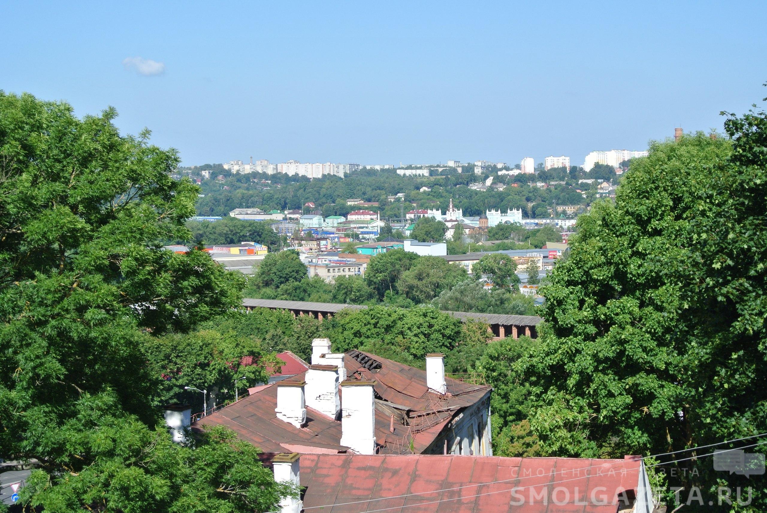 Во вторник в Смоленске будет жарко и ветрено