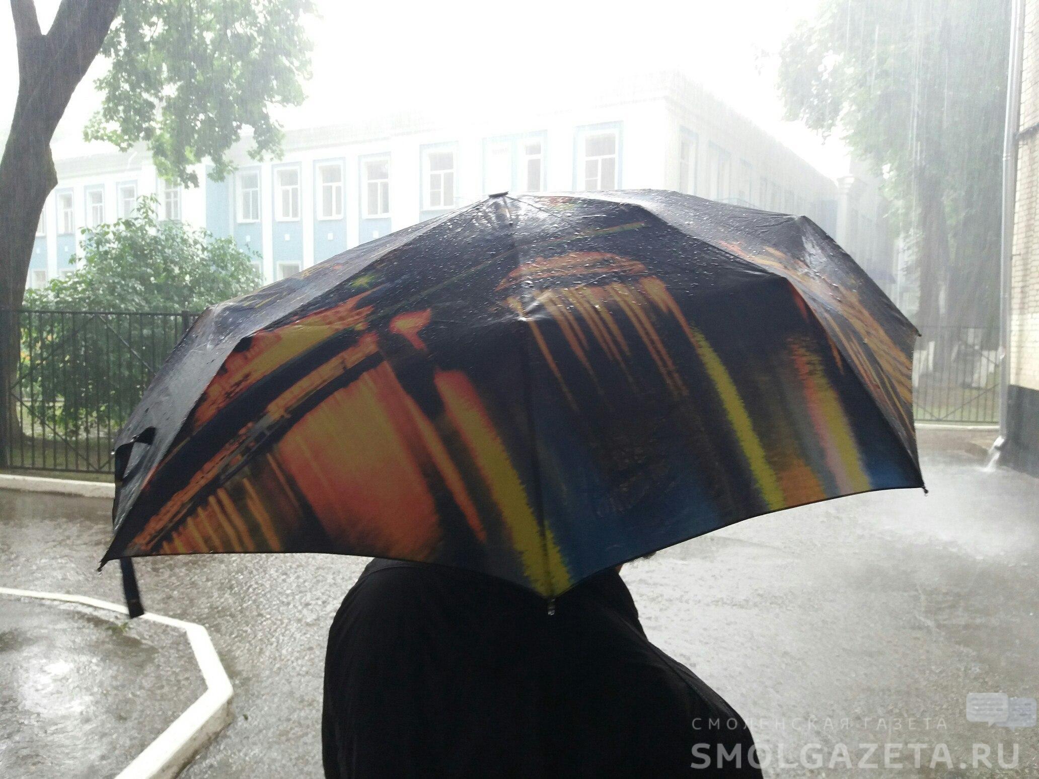 Погода в Смоленске продолжает портиться