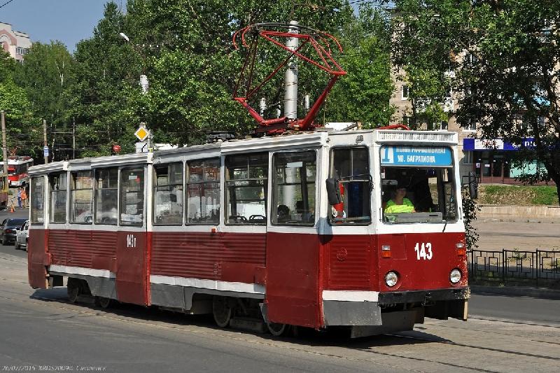 В Смоленске возобновилось движение трамваев в Заднепровье