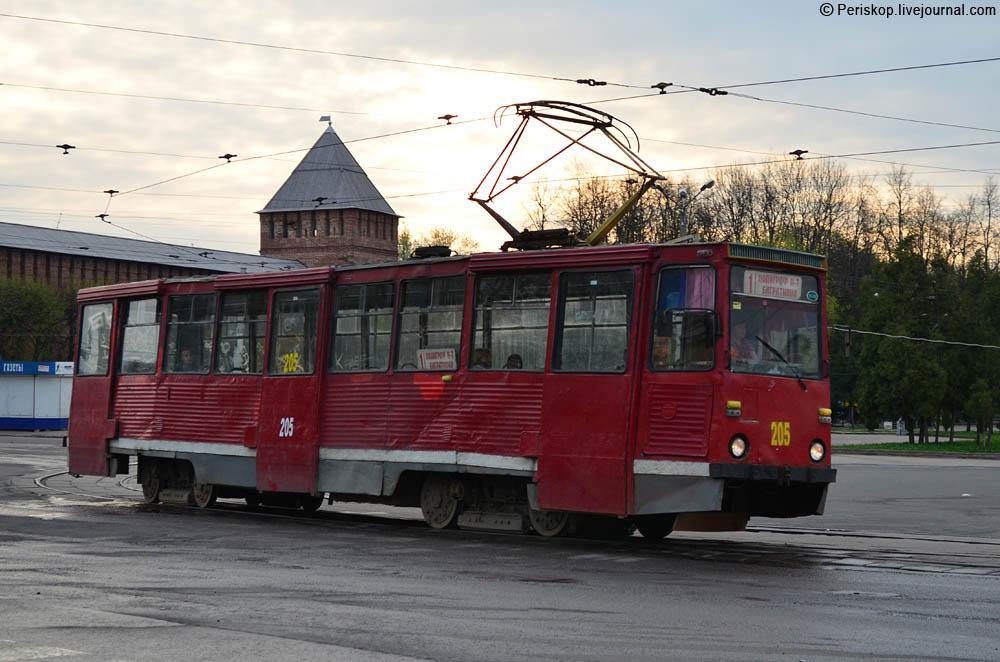 Движение трамваев в центре Смоленска восстановят 8 августа