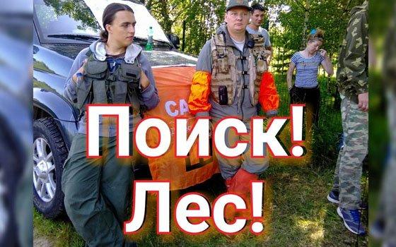 Смоленские волонтеры ПСО «Сальвар» ищут пропавшего Владимира Павлова