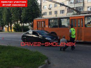 В Смоленске иномарка сбила пешехода