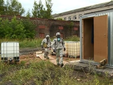 На Смоленщине приступили к ликвидации главного цеха бывшего ртутного завода