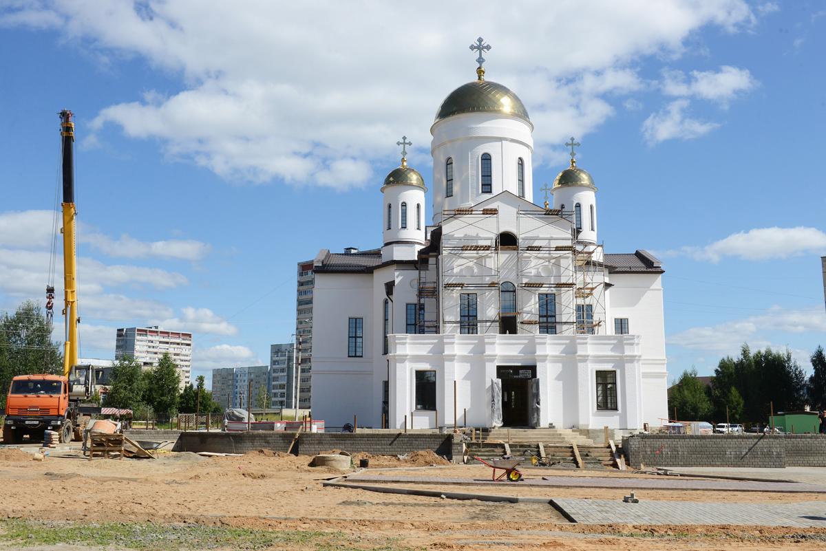 Патриарх Кирилл освятит в Ярцеве уникальный храм в честь Победоносца Георгия