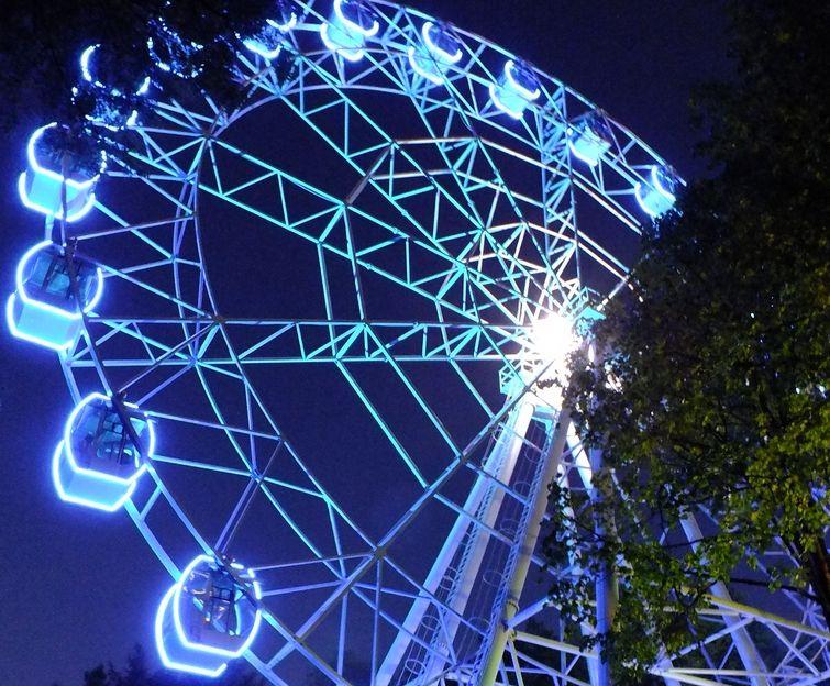 Новое колесо обозрения в Смоленске может быть почти на 10 метров выше старого