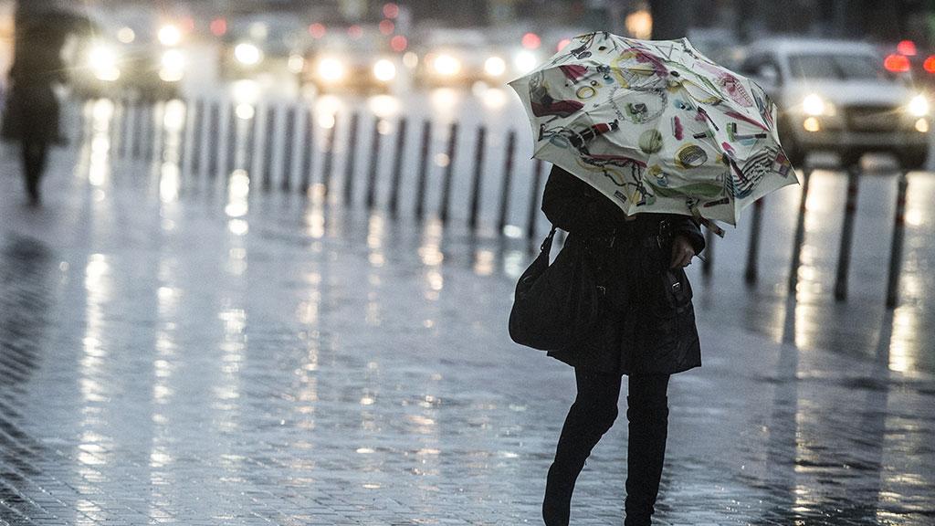 Непогода в Москве: пробки 5 баллов, падающие деревья и сорванные крыши