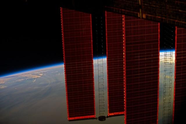 Смоленский космонавт опубликовал фото с борта МКС