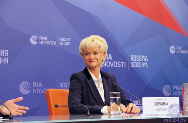 Светлана Хоркина: Магия Русских побед