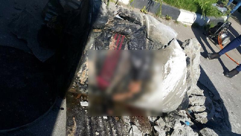 Пропавшую в Подмосковье смолянку нашли в бочке, залитой бетоном