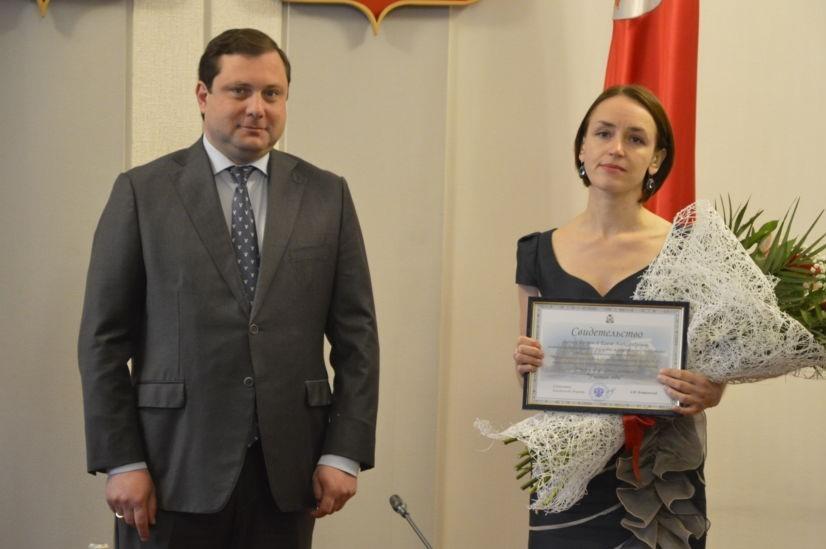 Учительница из Смоленской области претендует на звание «Учитель года России»