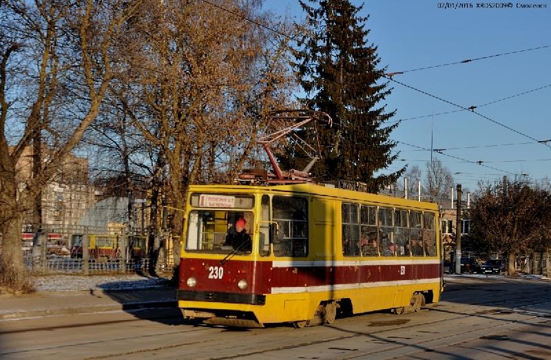 В Смоленске из-за ярмарки закроют движение трамваев