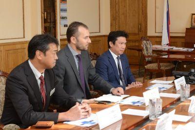 Рабочая встреча губернатора Смоленской области с представителями японского бизнеса
