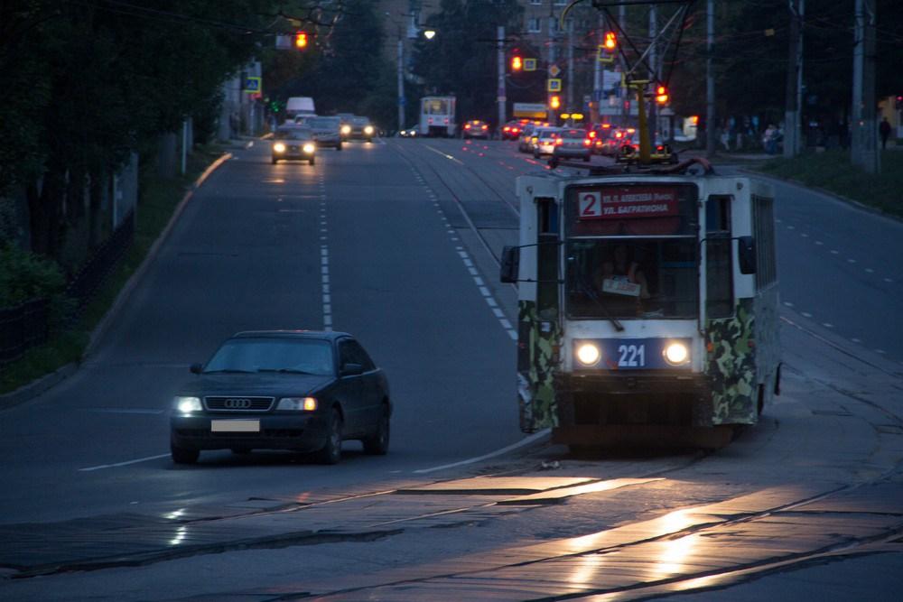 В Смоленске трамваи и троллейбусы не поедут на Киселёвку до конца сентября