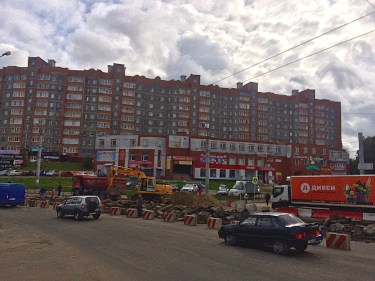 В Смоленске на Киселевке могут сделать выделенную полосу для автобусов