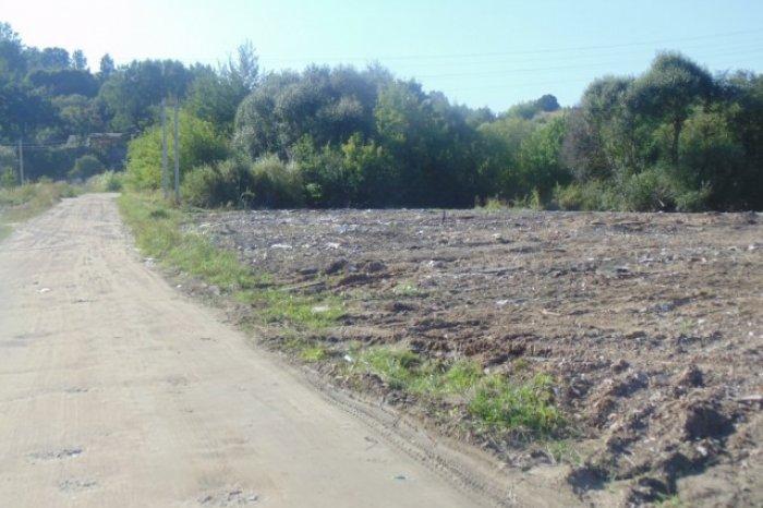 В Смоленске свалку присыпали землей