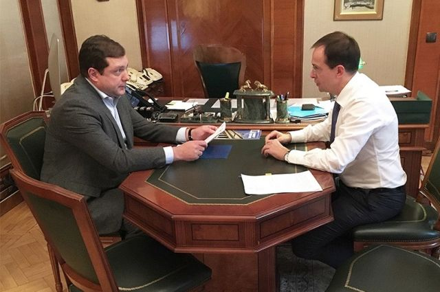 Губернатор Смоленской области встретился с министром культуры РФ