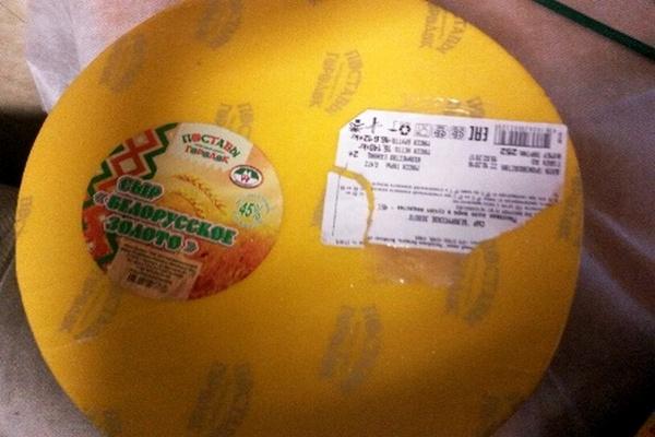 Из Смоленской области белорусский сыр вернули отправителю