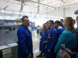 Студенты и школьники побывали на смоленских предприятиях