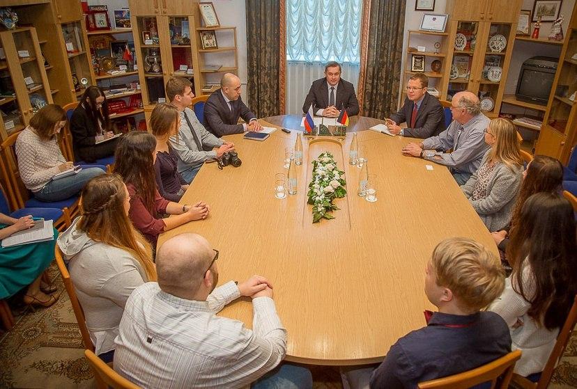 В Смоленск с визитом прибыли студенты из города Хаген