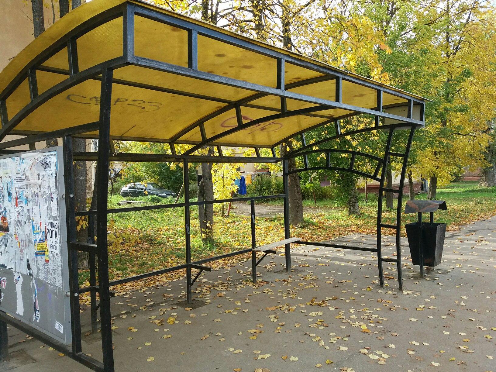 В Смоленске демонтируют 22 остановочных павильона