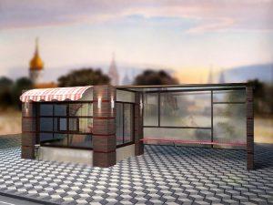 Губернатор Алексей Островский выступил с инициативой оборудования в Смоленске торговых объектов в остановочных павильонах