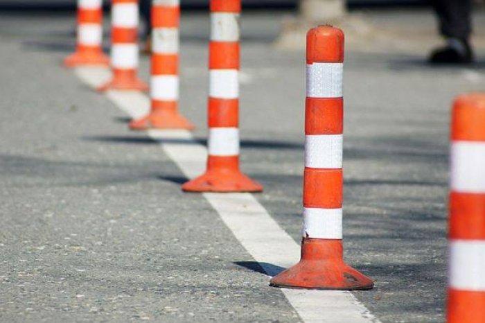 В Смоленске убрали трамвайные столбики с улицы 12 лет Октября