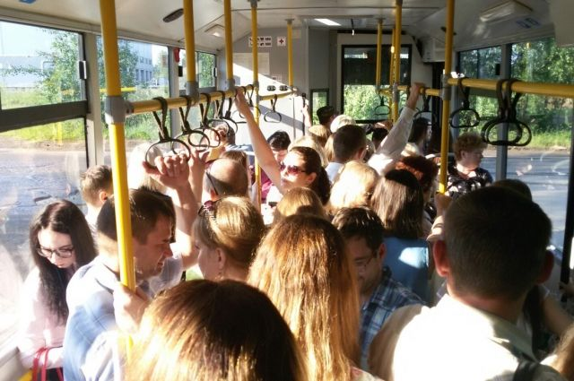 В Смоленске проведут расследование пожара в автобусе
