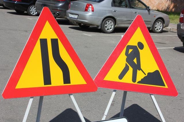 Движение по проспекту Строителей в Смоленске ограничили до декабря