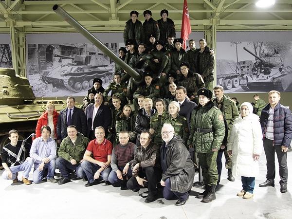 Смоленские кадеты посетили музей отечественной военной истории в Подмосковье