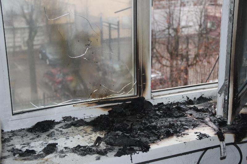 В Смоленске произошел пожар в студенческом общежитии