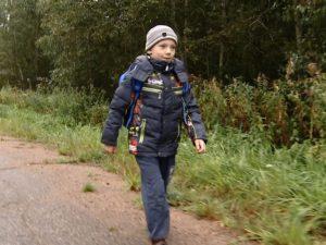 Под Смоленском из-за кондуктора ребенок в слезах пошел до школы пешком по трассе