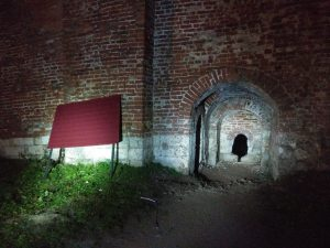 Преграду у входа на крепостную стену в Смоленске убрали
