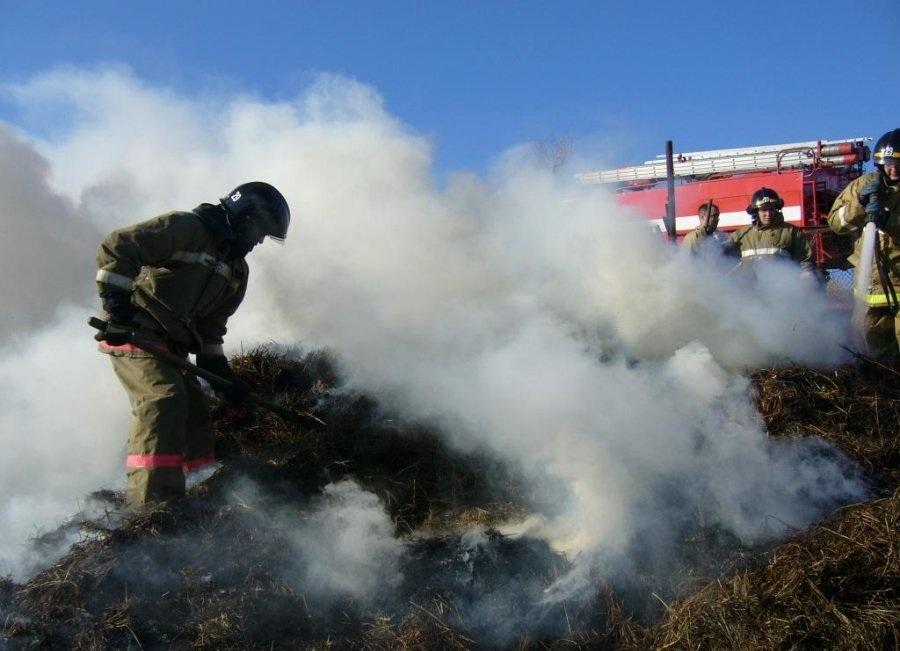 За сутки в райцентре Смоленской области — сразу 2 пожара