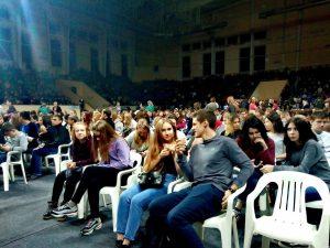 «Swanky Tunes» поздравили смоленских первокурсников в «Юбилейном»