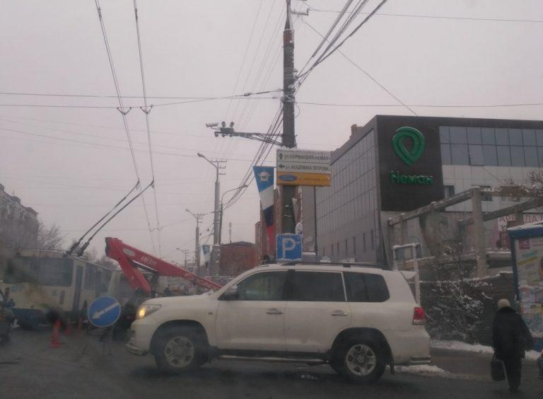 Новые камеры наблюдения за дорогами установили в Ленинском районе Смоленска