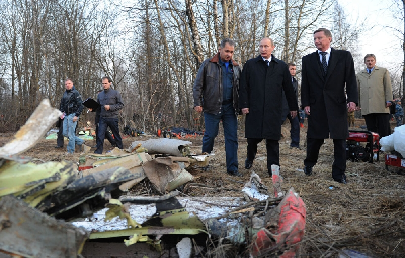 Владимира Путина спросили про новые факты авиакатастрофы в Смоленске