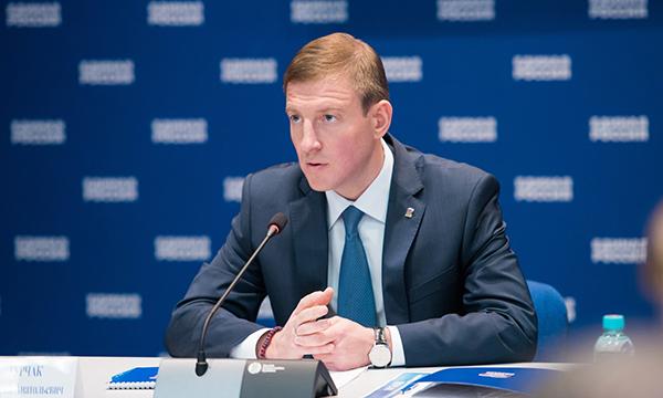 Андрей Турчак: «Единая Россия» поддерживает решение Президента РФ баллотироваться в качестве самовыдвиженца»