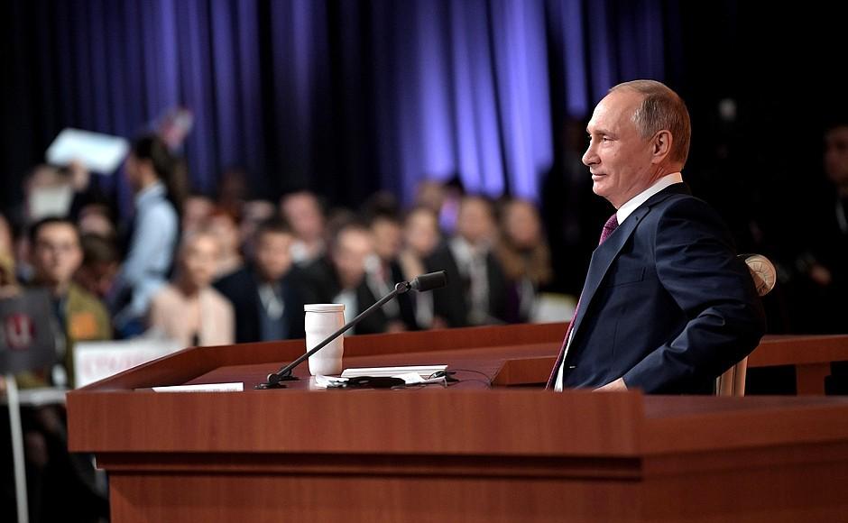 Журналисты из Смоленска не смогли задать вопрос Путину