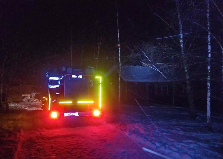 Ночью под Смоленском случился пожар в развлекательном центре
