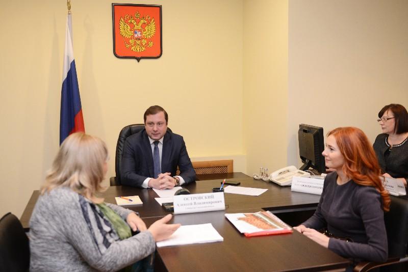 Губернатор Алексей Островский рассказал смолянам о сносе аварийного жилья и о выплате маткапитала