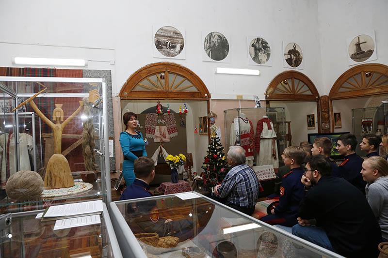 В музее «Смоленский лён» прошло заседание Литературной гостиной