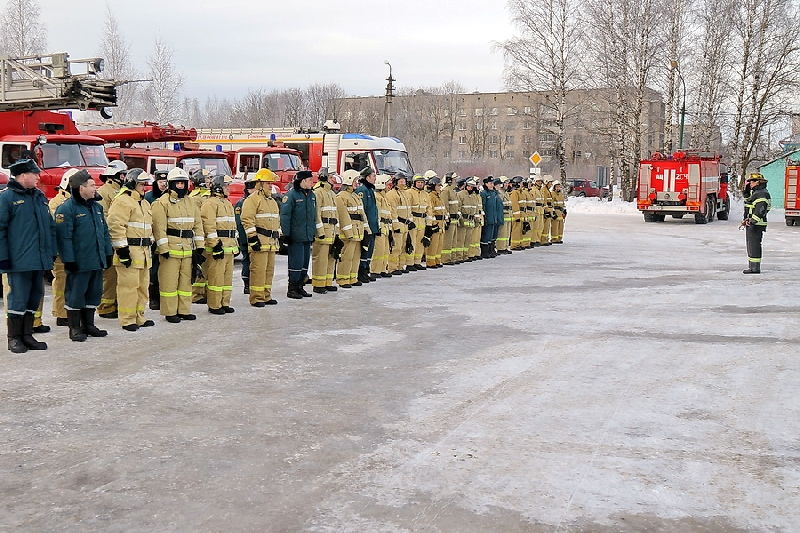 Смоленские спасатели перешли на усиленный вариант несения службы