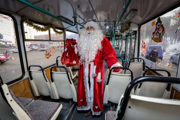 Как в Смоленске будут ходить автобусы в новогодние праздники