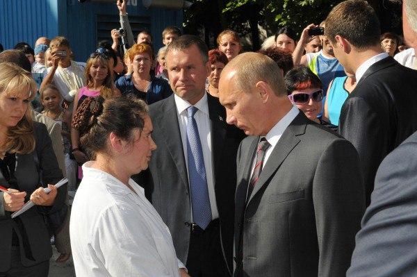 Визиты Владимира Путина в Смоленск. Как это было